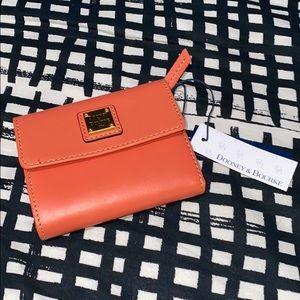 Donney & Bourke gorgeous coral wallet